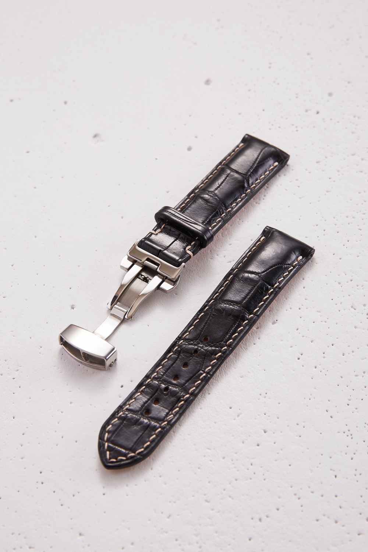 Alligator Padded Watch Strap
